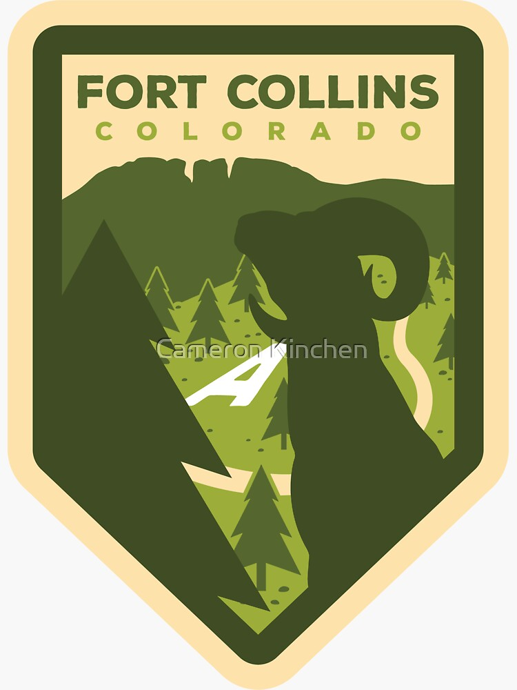 Fort Collins Badge Design by cammonk