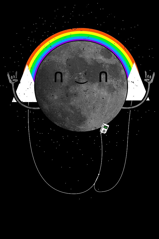 Dark Side of the Moon Parody #473827481 by Elisha Hale