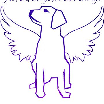 Not All Angels Have Wings (in purple) by Brianna-Designs