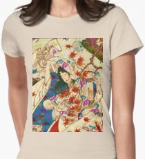Asian Wind Women's Fitted T-Shirt