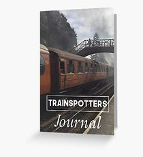 Trainspotters Journal - Goathland Station - Yorkshire Greeting Card