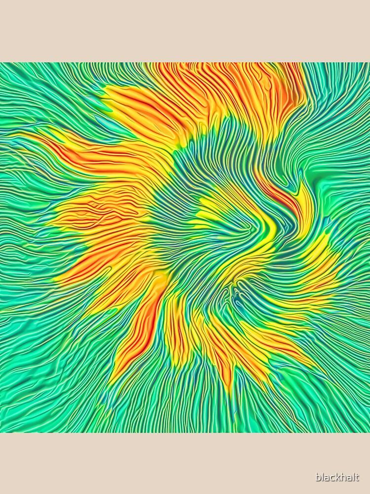 Abstract sunflower | Energy exchange by blackhalt