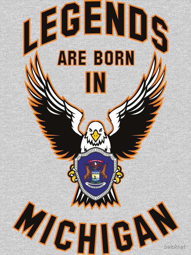 Legends are born in Michigan by beloknet