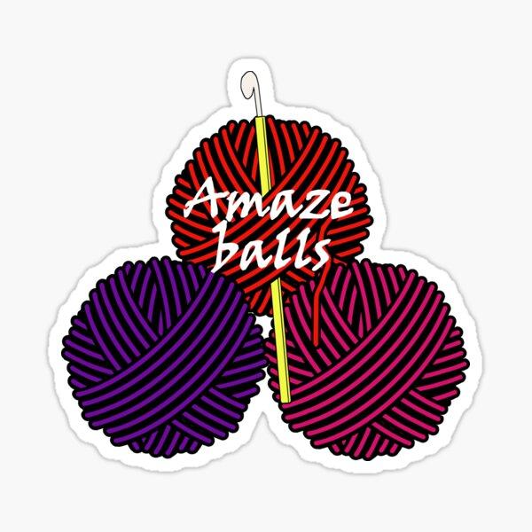 Amaze balls Sticker