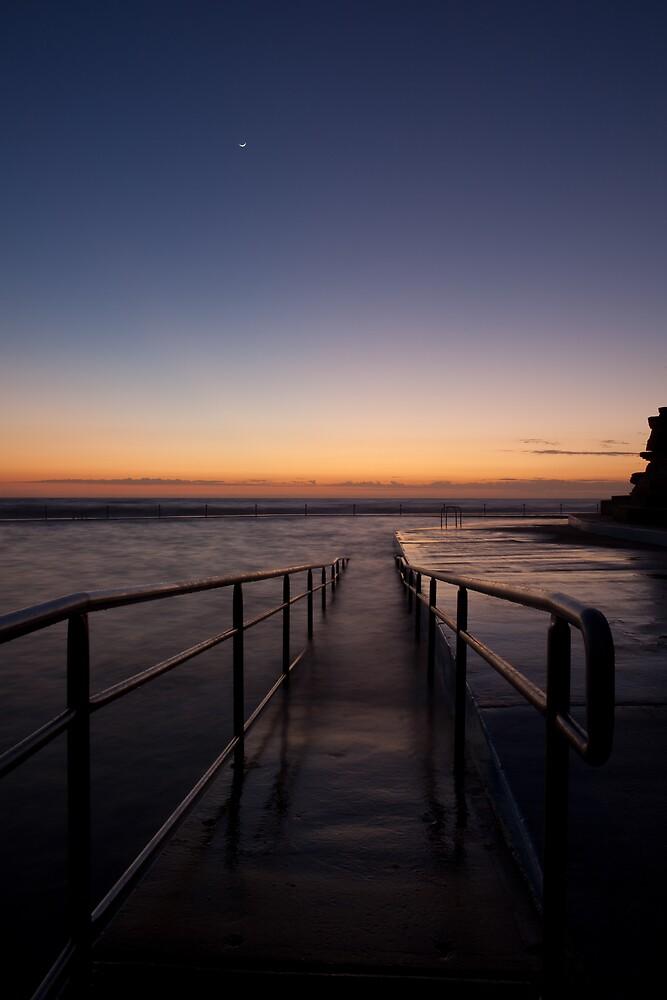 Collaroy Rock Pool At Sunrise by Chris Ballment