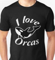 Camiseta ajustada Amo Orcas