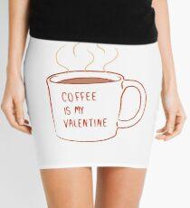 COFEE  LOVE Mini Skirt