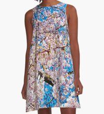 Cherry Blossom II A-Line Dress