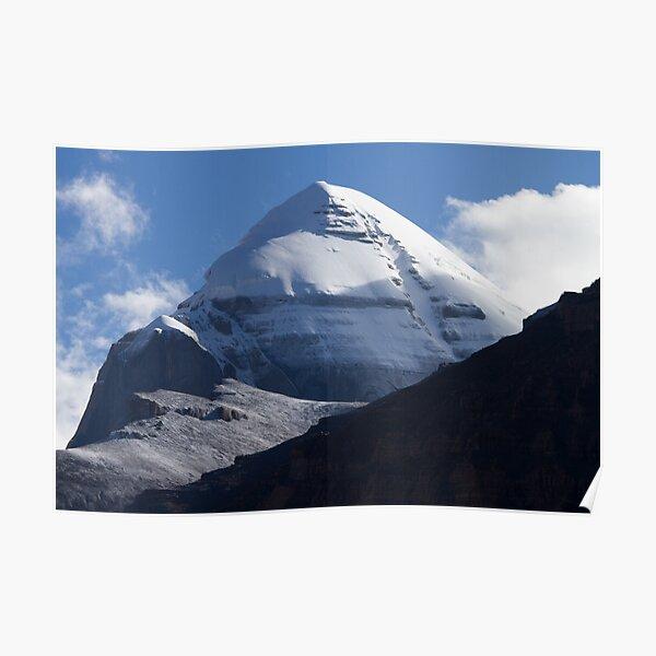 Mount Kailash Himalayas range Tibet Poster