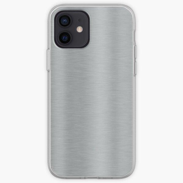 Aluminum Brushed Metal iPhone Soft Case