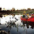 The Canoe by bricksailboat