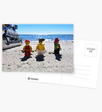 Pirate arrival: now what? Postcards