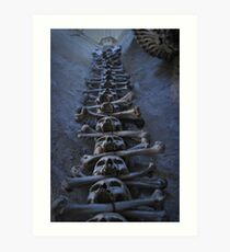 Sedlec Ossuary Art Print