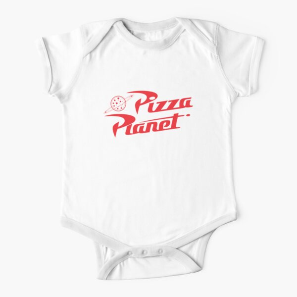 Pizza Planet Short Sleeve Baby One-Piece