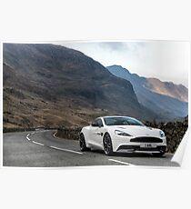 Aston Martin V12 Vanquish  Poster