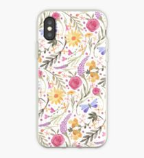 Scattered Summer Bouquet iPhone Case