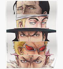 OP villains eyes Poster