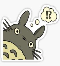 Totoro ask Sticker