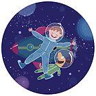 Space friends by oksancia