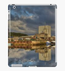 Lochinver Harbour, Sutherland, Scotland. iPad Case/Skin