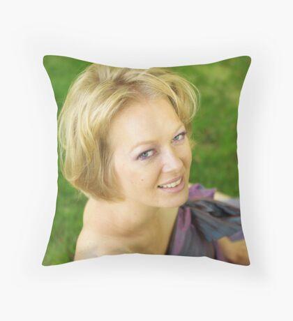 MS 2 Throw Pillow