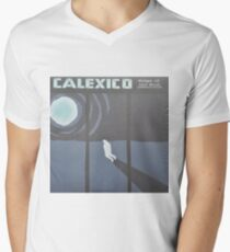 Calexico Edge of the sun LP Sleeve artwork fan art V-Neck T-Shirt