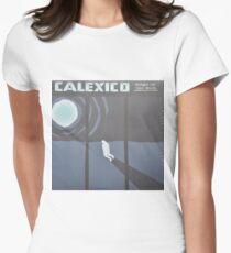 Calexico Edge of the sun LP Sleeve artwork fan art Women's Fitted T-Shirt