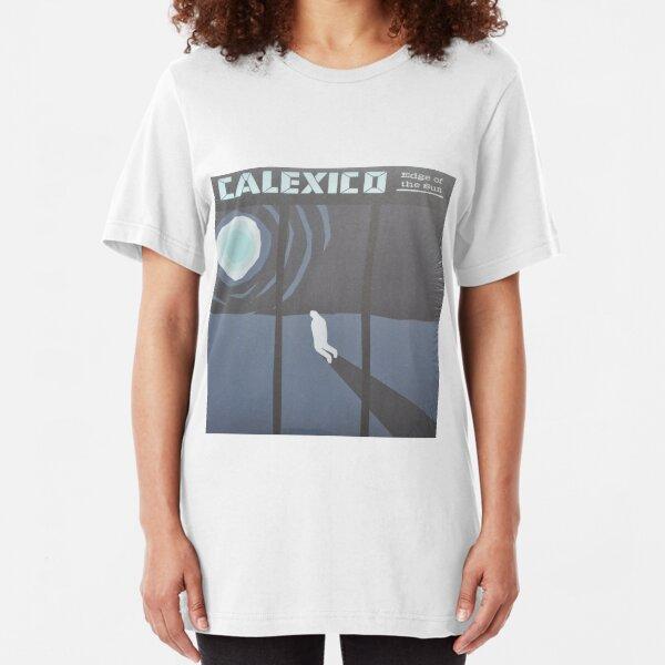 Calexico Edge of the sun LP Sleeve artwork fan art Slim Fit T-Shirt