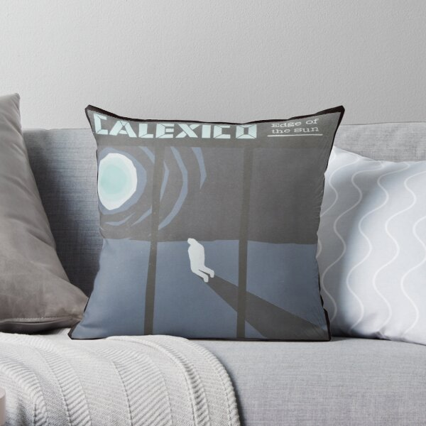 Calexico Edge of the sun LP Sleeve artwork fan art Throw Pillow