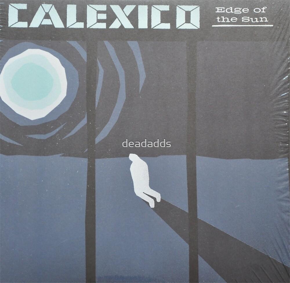 Calexico Edge of the sun LP Sleeve artwork fan art by deadadds