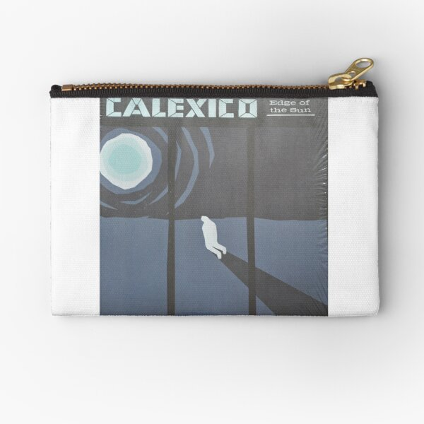 Calexico Edge of the sun LP Sleeve artwork fan art Zipper Pouch