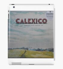 Calexico - The thread that keeps us LP Sleeve artwork Fan art iPad Case/Skin