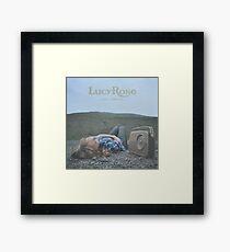Lucy Rose - like i used to LP Sleeve artwork Fan art Framed Print