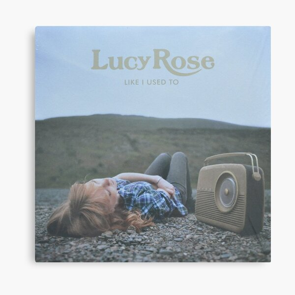 Lucy Rose - like i used to LP Sleeve artwork Fan art Canvas Print