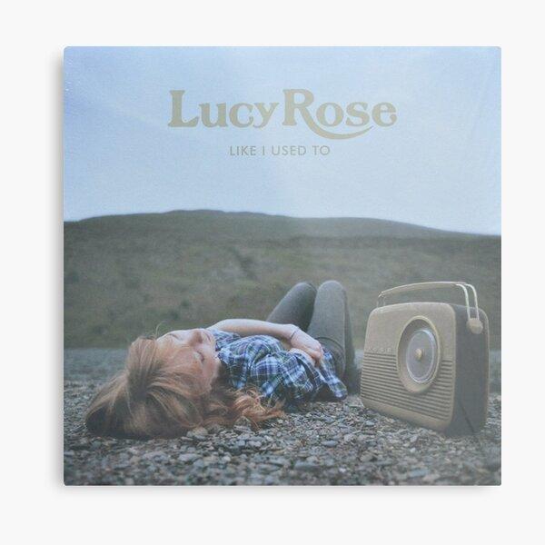 Lucy Rose - like i used to LP Sleeve artwork Fan art Metal Print