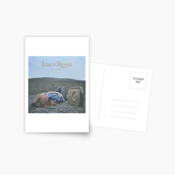 Lucy Rose - like i used to LP Sleeve artwork Fan art Postcard