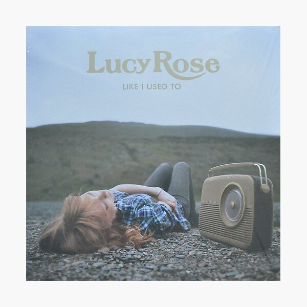 Lucy Rose - like i used to LP Sleeve artwork Fan art Photographic Print