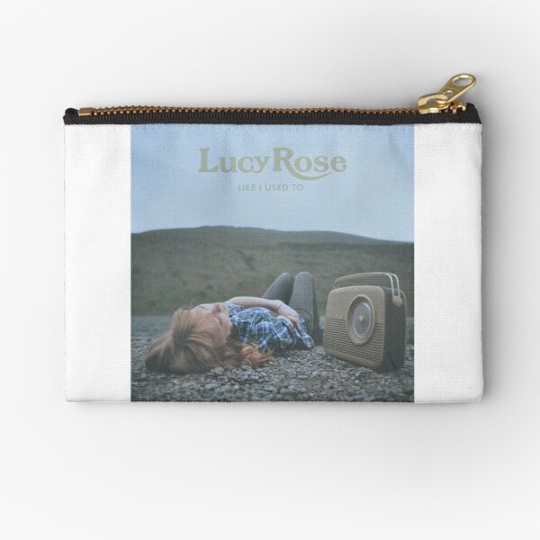 Lucy Rose - like i used to LP Sleeve artwork Fan art Zipper Pouch