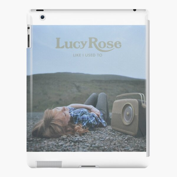 Lucy Rose - like i used to LP Sleeve artwork Fan art iPad Snap Case