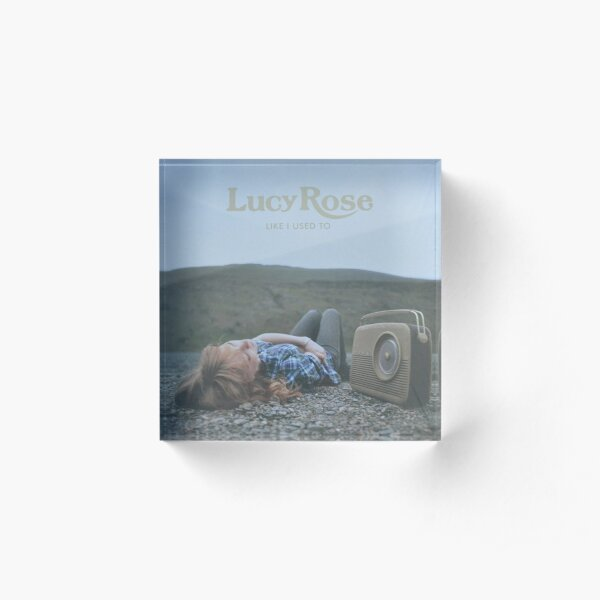 Lucy Rose - like i used to LP Sleeve artwork Fan art Acrylic Block