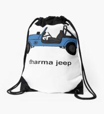Dharma Initiative Jeep Drawstring Bag