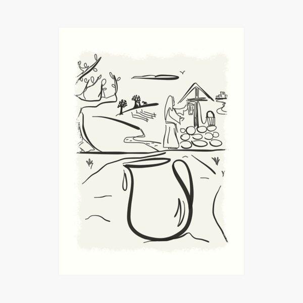 Jacobs Well ~ By Ernie Kasper Art Print