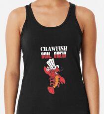 Crawfish Boiling Crew Shirt Racerback Tank Top