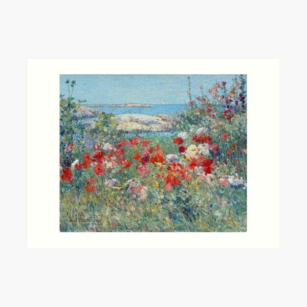 Childe Hassam Celia Thaxter's Garden Art Print