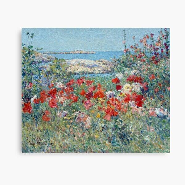 Childe Hassam Celia Thaxter's Garden Canvas Print