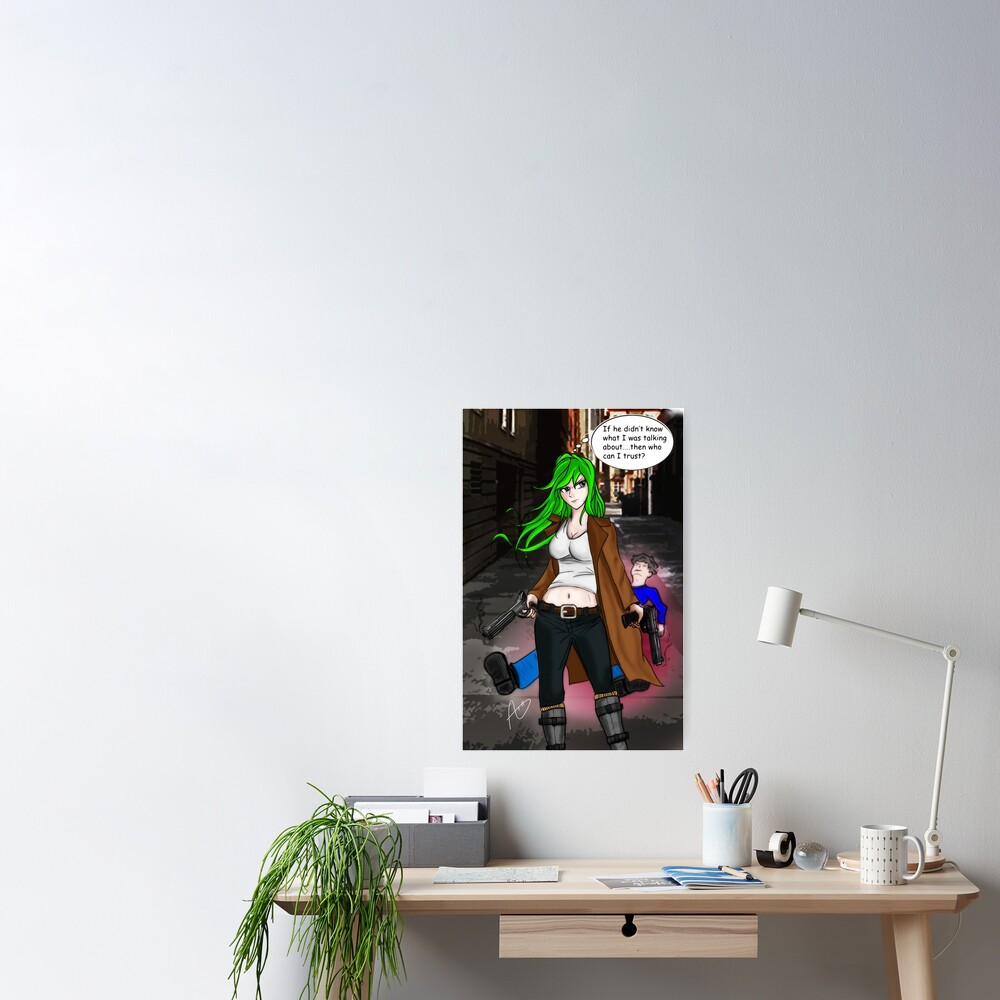Midori Kyuu Poster
