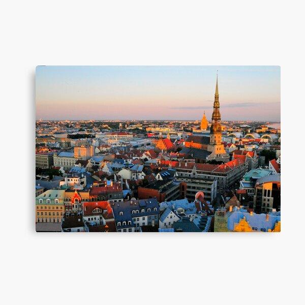 Views of Old Riga 2 Canvas Print