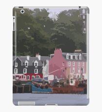 Tobermory, Isle of Mull, Scotland iPad Case/Skin