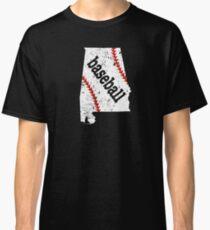 Alabama Shirt Baseball Fan Gear Shirt Classic T-Shirt