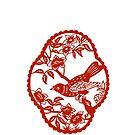 Ornamental Decorative Bird by coralZ